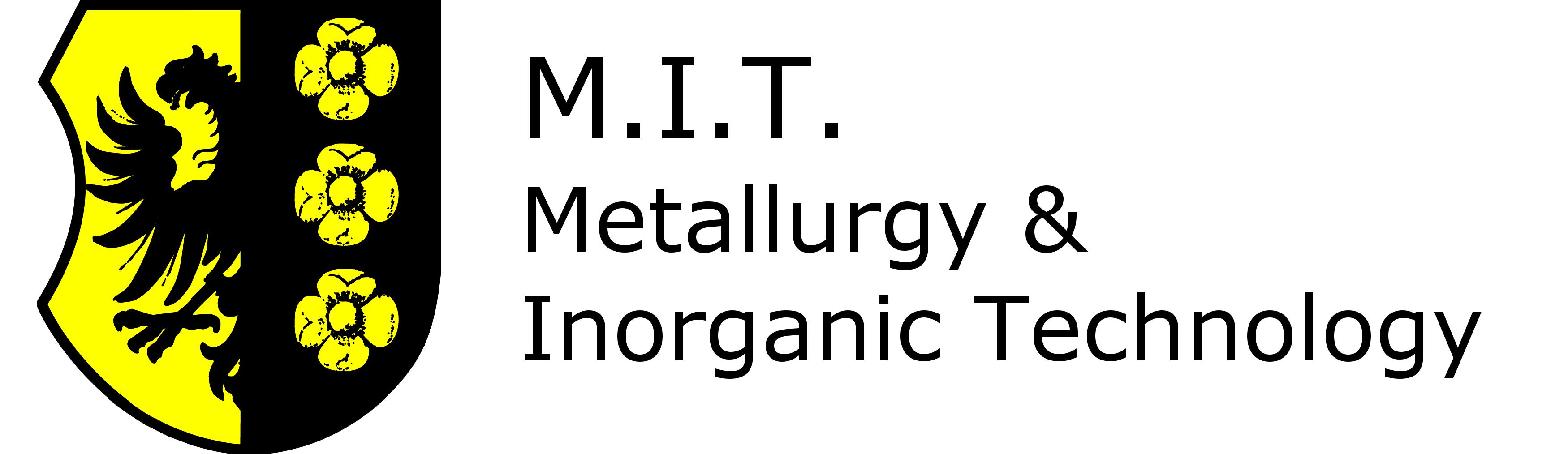 M.I.T. Metallurgy & Inorganic Technology